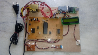 DIGITAL WEATHER STATION WITH DATA STORAGE