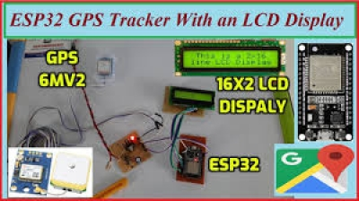 ESP32 GPS Tracker with an LCD Display